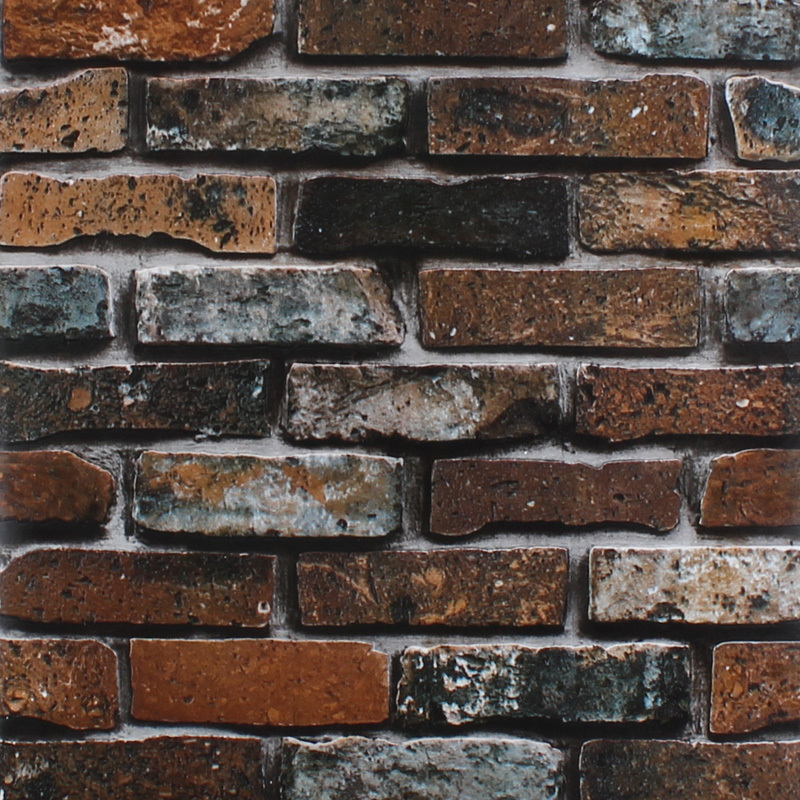 faux stone brick wallpaper - photo #23