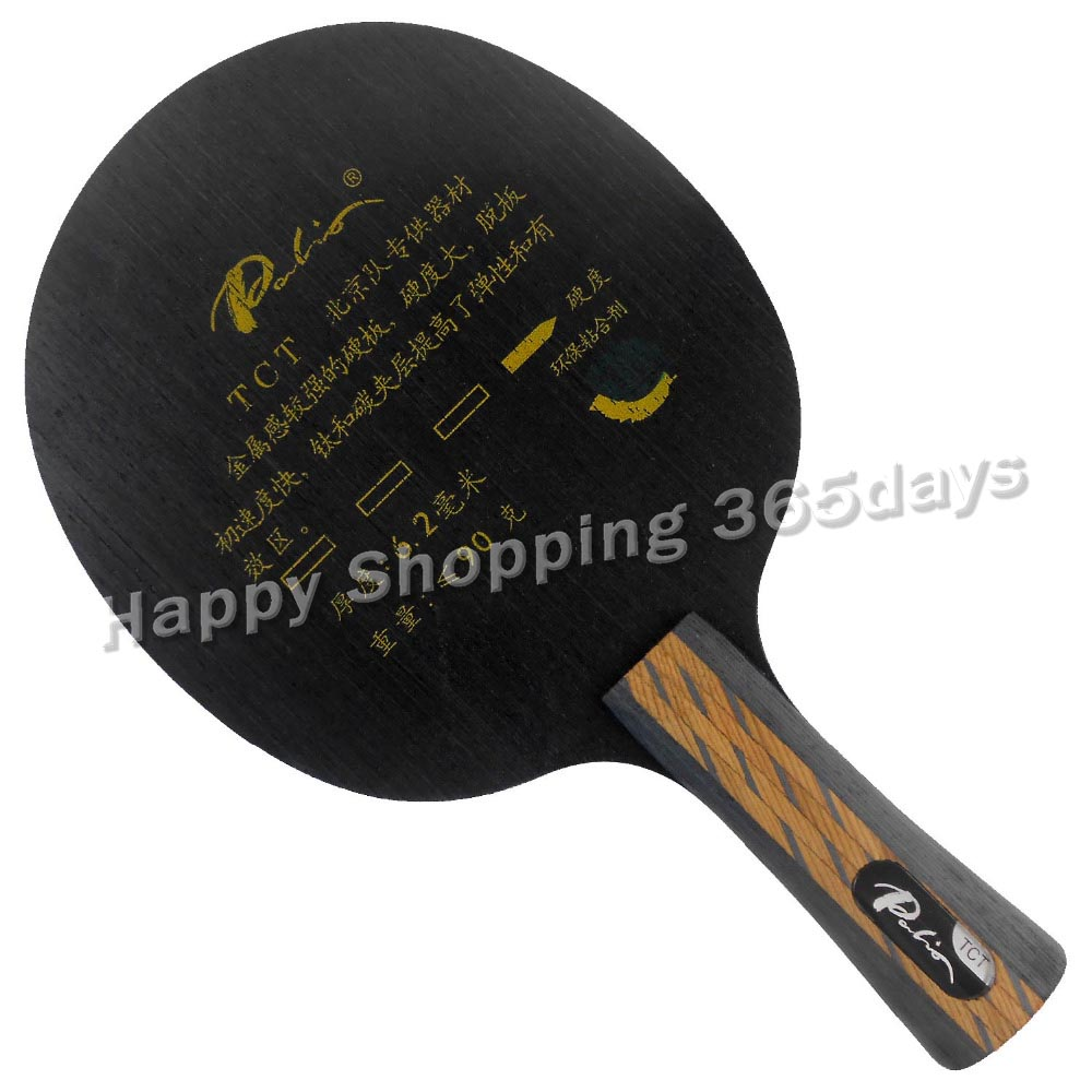 Palio TCT Ti + Carbon Table Tennis Pingpong Blade