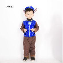 6aaf675ab Ainiel bebé Anime perro Cheas Cosplay traje de los niños chico patrulla  perro de dibujos animados trajes de fiesta ropa para rop.