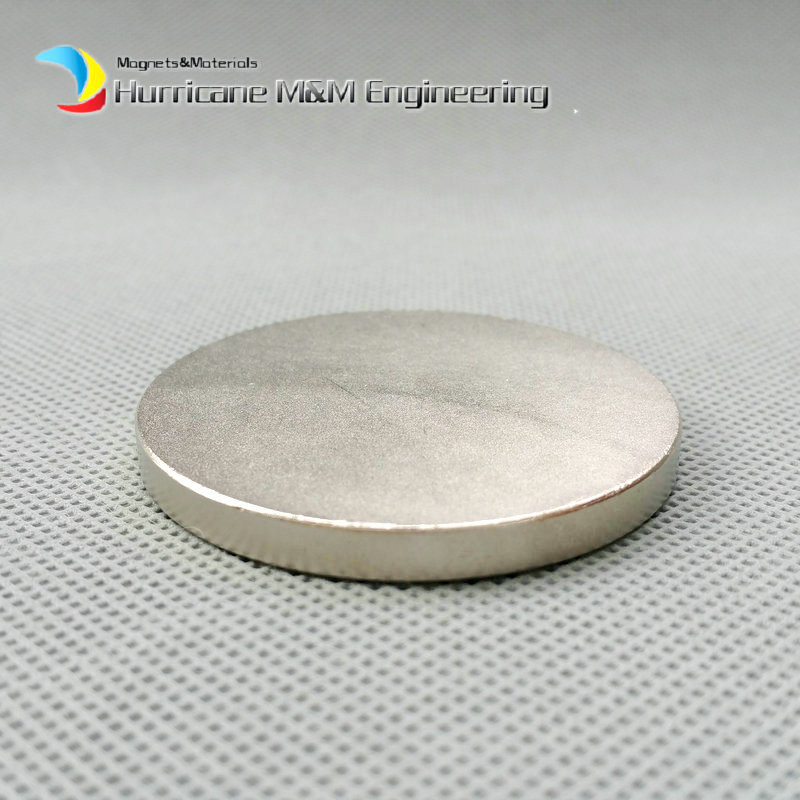 1 pack Grade N42 Large Disc Dia. 50x5 mm NdFeB Magnet Strong Neodymium Magnets Sensor Rare Earth Magnets Permanent Lab magnets ndfeb n42 magnet large disc od 100x10 mm with m10 countersunk hole 4 round strong neodymium permanent rare earth magnets