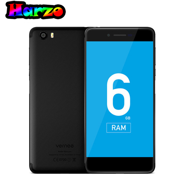 Vernee Mars Pro Android 7.0 6 г Оперативная память 64 г Встроенная память helio P25 Octa Core мобильный телефон 5.5 дюймов ячейки телефон отпечатков пальцев 4 г LTE смартфон