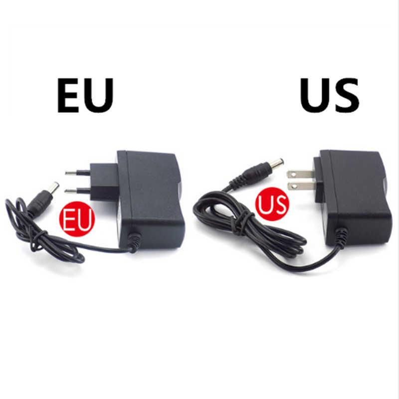 AC 110-240V DC 5V 6V 8V 9V 10V 12V 15V 0.5A 1A 2A 3A مهايئ طاقة شامل امدادات مهايئ شاحن الاتحاد الأوروبي لنا ل مصباح ليد شرائط