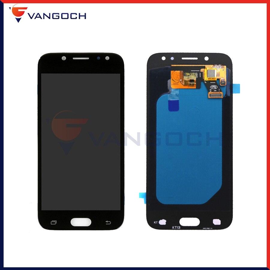D'origine Super Amoled LCD Écran Pour Samsung Galaxy J5 pro 2017 J530 J530F L'assemblée Remplacement Écran Tactile Digitizer