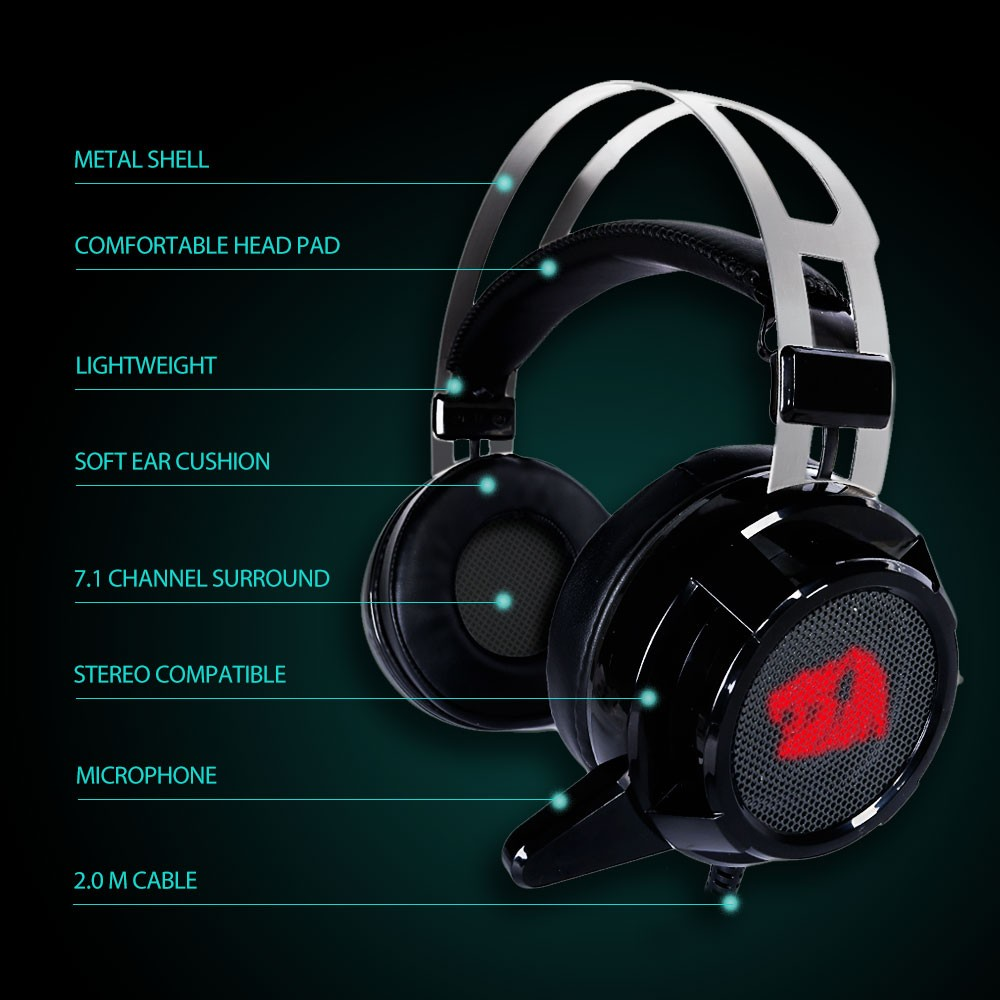 HTB1FAFDOVXXXXcdapXXq6xXFXXXY - Redragon H301 SIREN2 USB Stereo Gaming Headset Over Ear Headphones