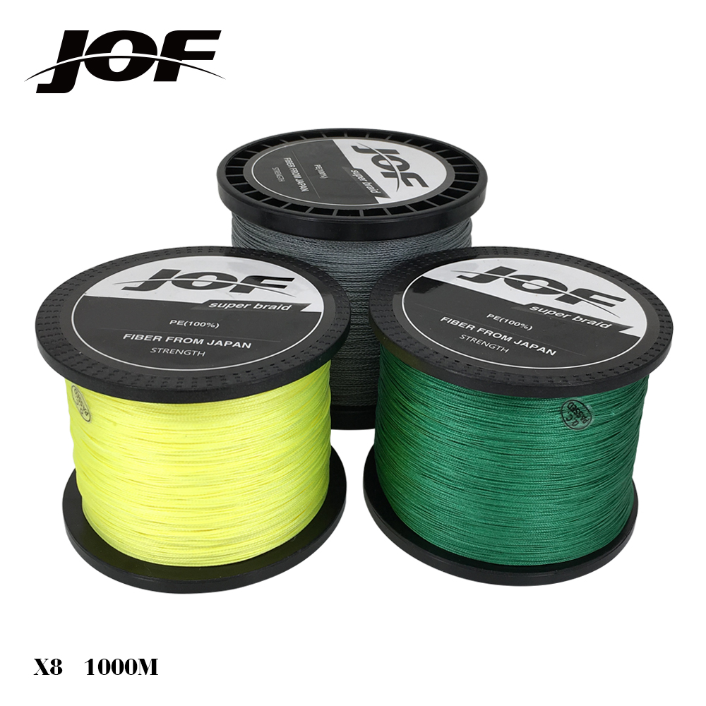 brand 1000m 8 strand pe multifilament braided fishing line On best braided fishing line saltwater