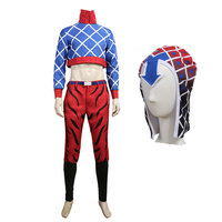 JoJos Bizzare Adventure GUIDO MISTA Cosplay Costume Full Set