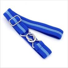 Candy Color Stripe 1 Inch Wide Kids Children Elastic Waist Striped Belt For Boys Girls