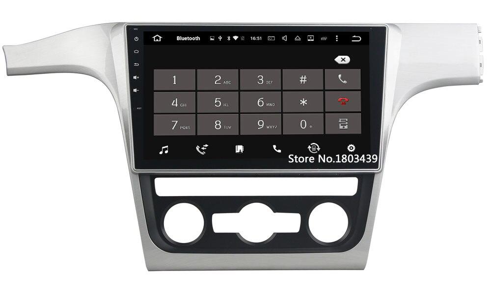 "Octa Core 2GB RAM 32GB ROM Android 6.0.1 2 din 10.1"" Car DVD Radio Multimedia Player GPS Navi For Volkswagen Passat 2013-2014"