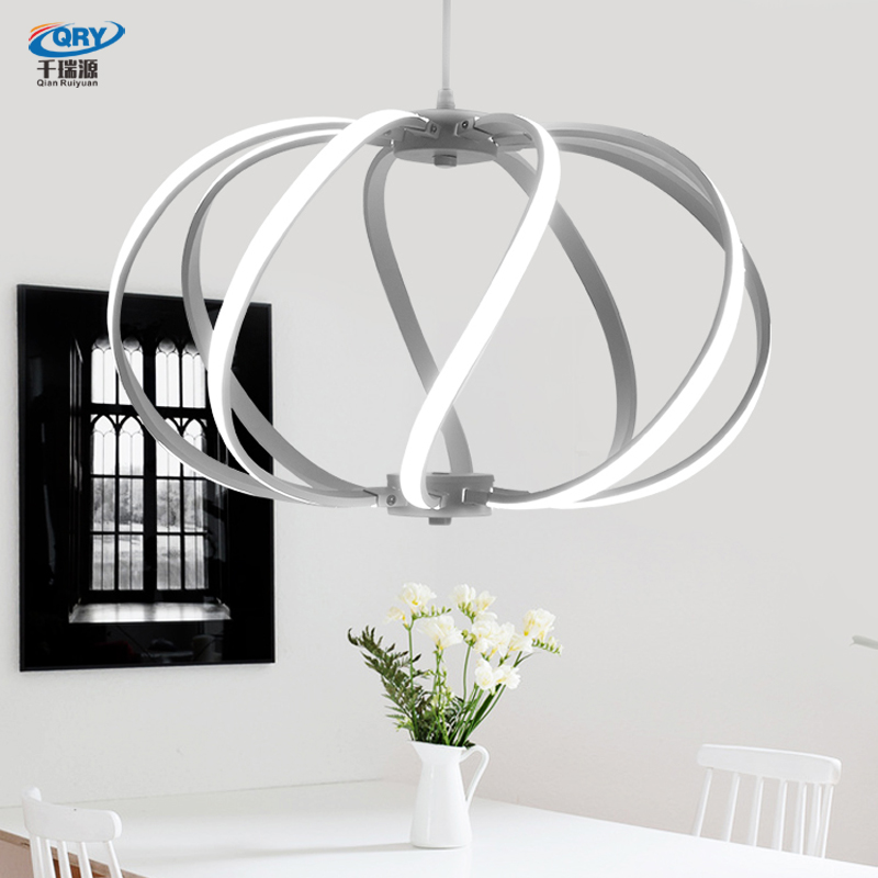 A1 Modern simple Pendant LED bar lamp creative personality restaurant chandelier fashion bedroom lamp atmospheric lighting lamps