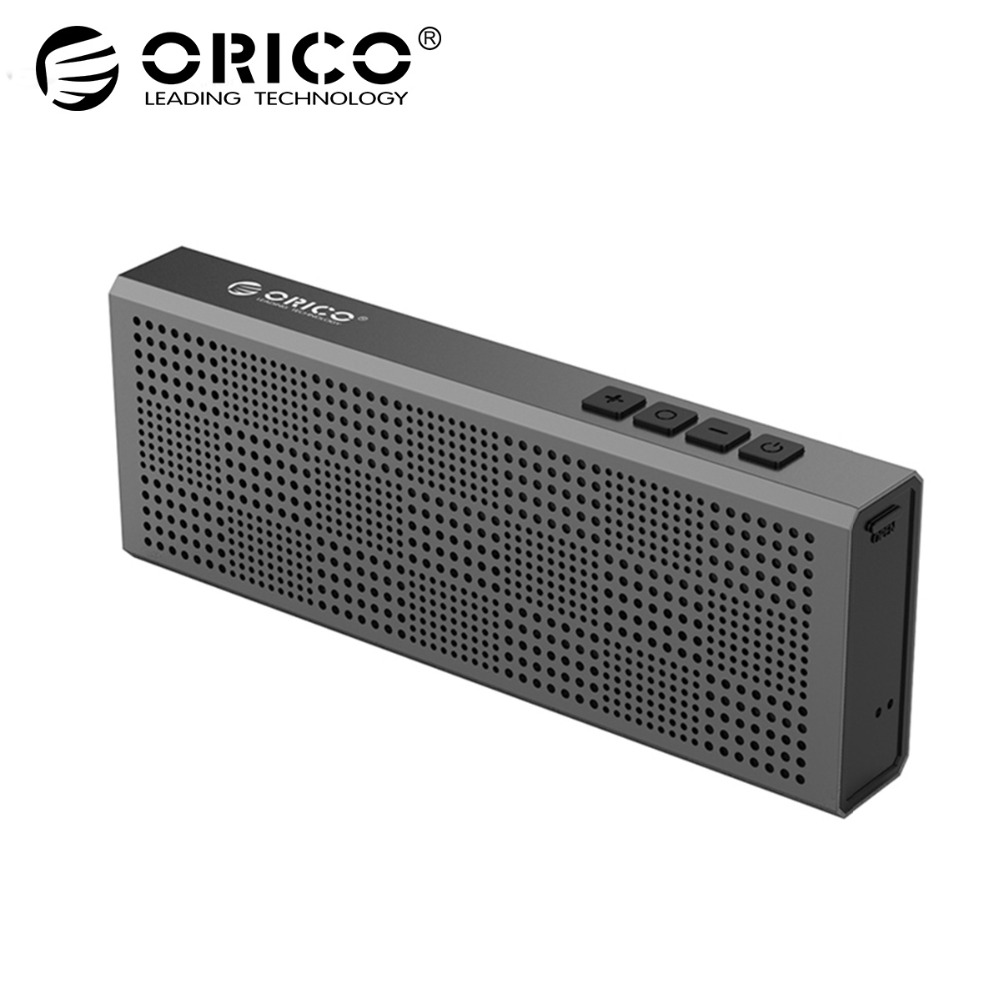 ORICO BS2 Aluminum Wireless Bluetooth Speaker Portable Loudspeaker Sound System Stereo Music Surround Outdoor Speaker jy 3 outdoor wireless bluetooth speaker loudspeaker music speaker
