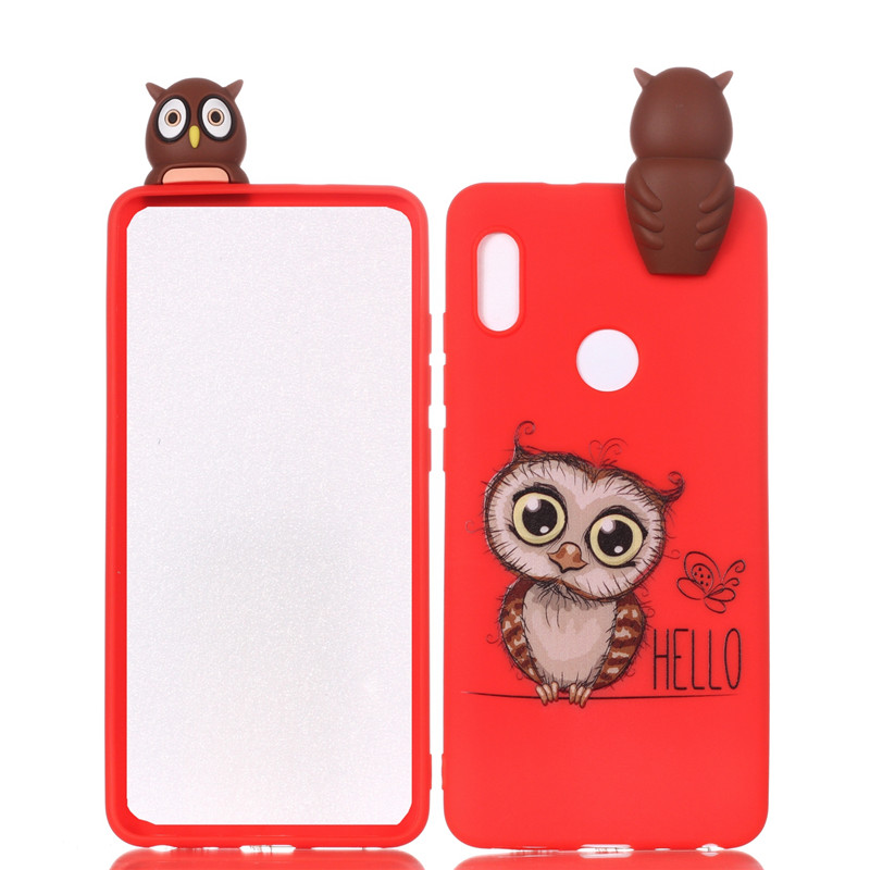 3D Cute Panda Owl Cat DIY Cases For Huawei Honor 9 Lite P Smart P10 P10lite P20 Lite Mate 10 Lite P8 Lite 2017