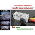 Para TOYOTA Avensis T250 T270 2003 ~ 2015 Intelligentized Camera Invertendo Rear View Back Up/580 Linhas de TV Dinâmico Faixas de orientação
