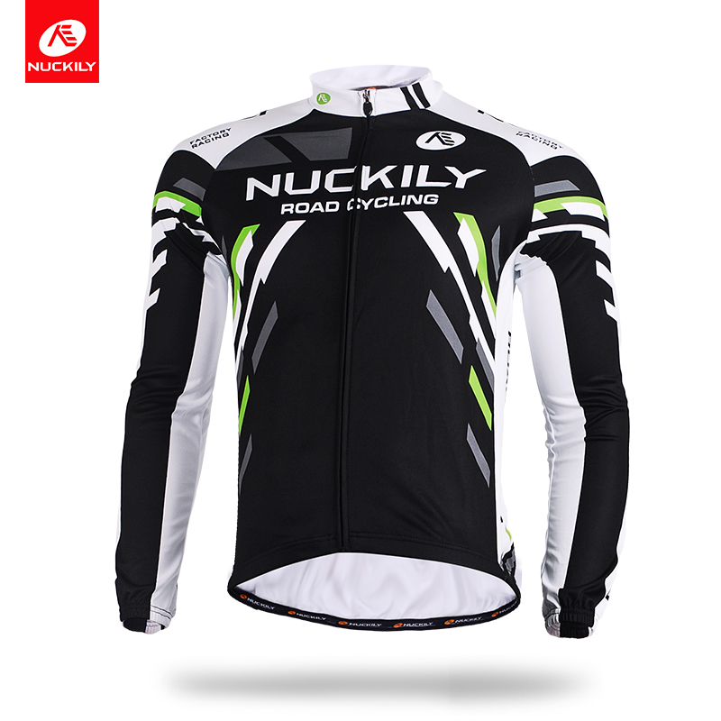 NUCKILY MTB Cycling Jersey Simply Cool Sublimation Printed Bike Wear MC005 in Cycling Jerseys from Sports Entertainment