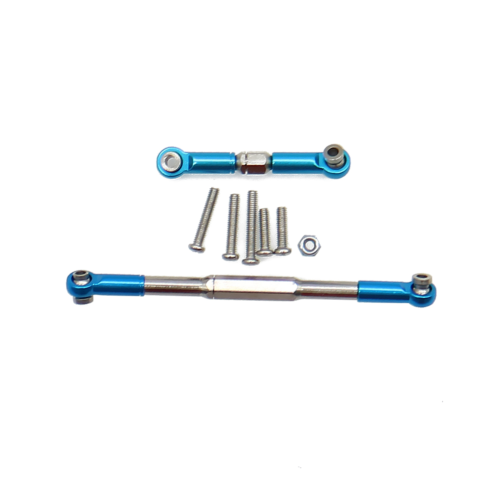 1 Set//8PCS Metal Tie Bar Linkage Parts For WPL JJRC 1:16 RC Military Truck Model