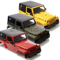 NEW ENRON 270mm Plastic Body Shell for 1:10 RC Car Jeep Wrangler Rubicon SCX10 CC01 D90