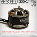T-motor High Performance MN4014 KV330 Outrunner Brushless Motor