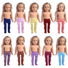 10 high quality Leggings Leggings 18 inch American Girl Doll clothing accessories, give children the best gift.