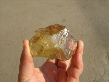 425 Ct Top natural citrine quartz crystal original specimen  LA1272