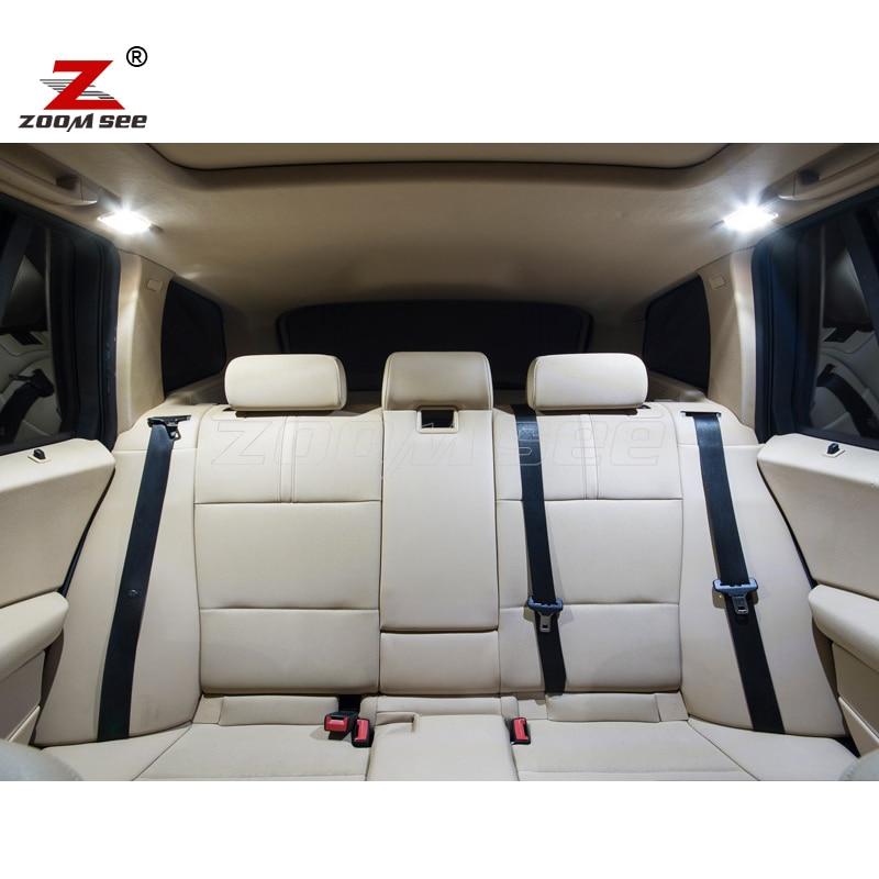 16 шт. светодиодный фонарь освещения номерного знака+ внутренний Купол Карта огни лампы комплект для BMW X1 E84(2010