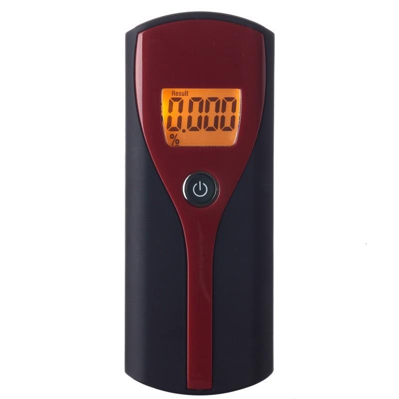 Wholesale Professional Alcohol Breath Tester Analyzer with hand strap Digital Breathalyzer Alcohol Meter Analyzer Detector все цены