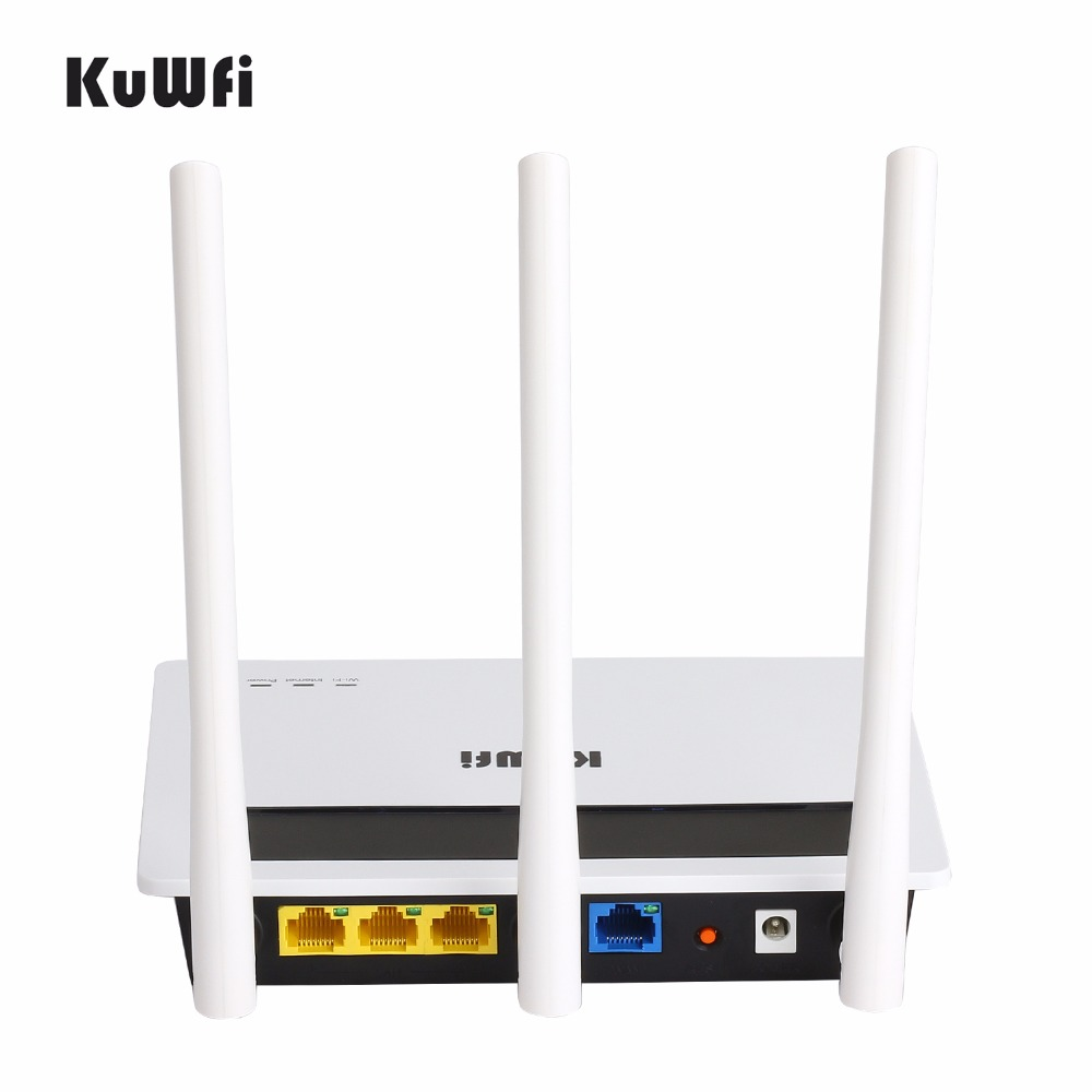 Image 3 - 2.4G 300Mbps High Power Wireless Router Strong Wifi Signal Home Networking AP with 3*6dbi Antenna Wifi Repeater-in Wireless Routers from Computer & Office