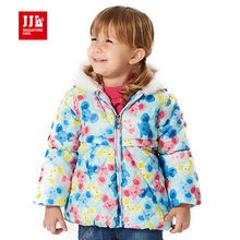 2015 new baby s clothing for girls winter coat thicking warm outerwear koala pattern cotton padded