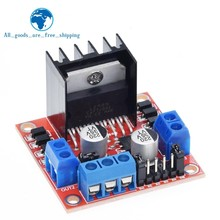 TZT 10PCS New Dual H Bridge DC Stepper Motor Drive Controller Board Module L298N for Arduino smart car robot