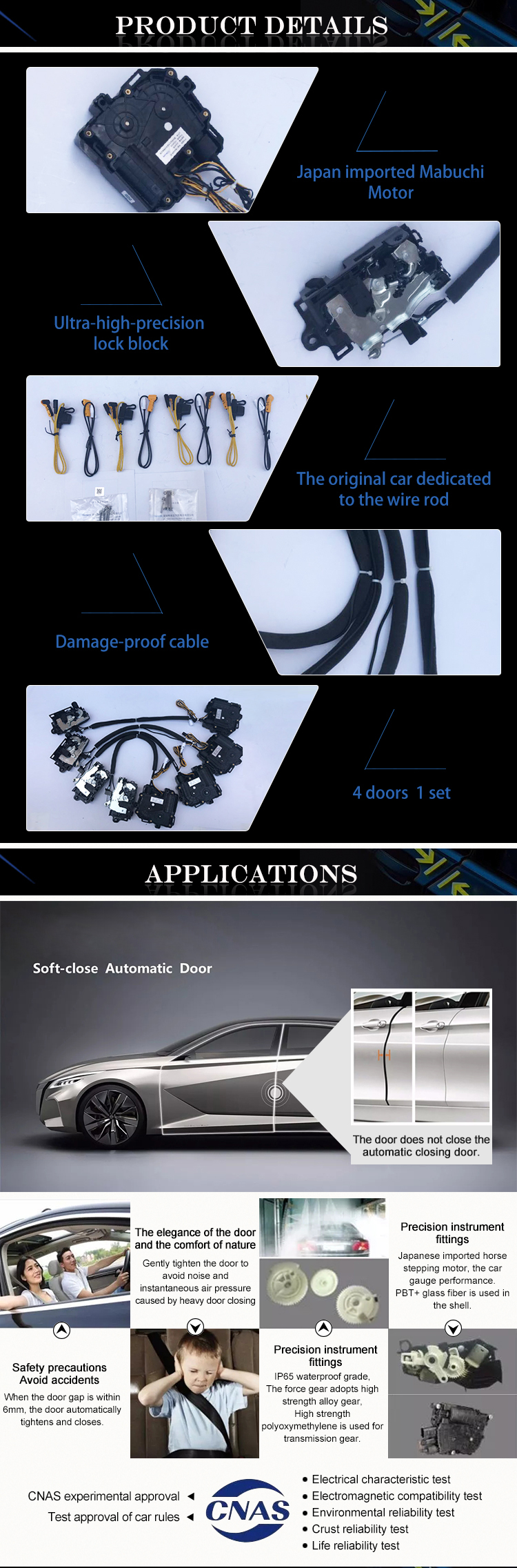 QISONG Car Models List of Automotive Electric Self Priming