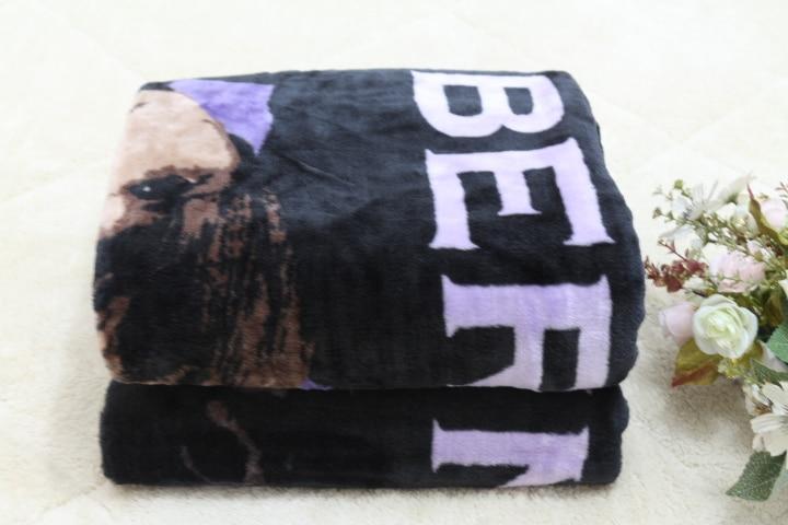 Envío Gratis Justin Pandorica Micro Raschel Throw Blanket Purple - Textiles para el hogar