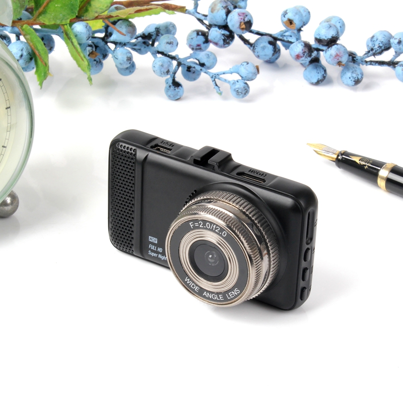 3 Inch 1080P Car DVR Camera Dual Lens Full HD 1080P Video Recorder Dash Cam Parking Monitor G sensor Night Vision