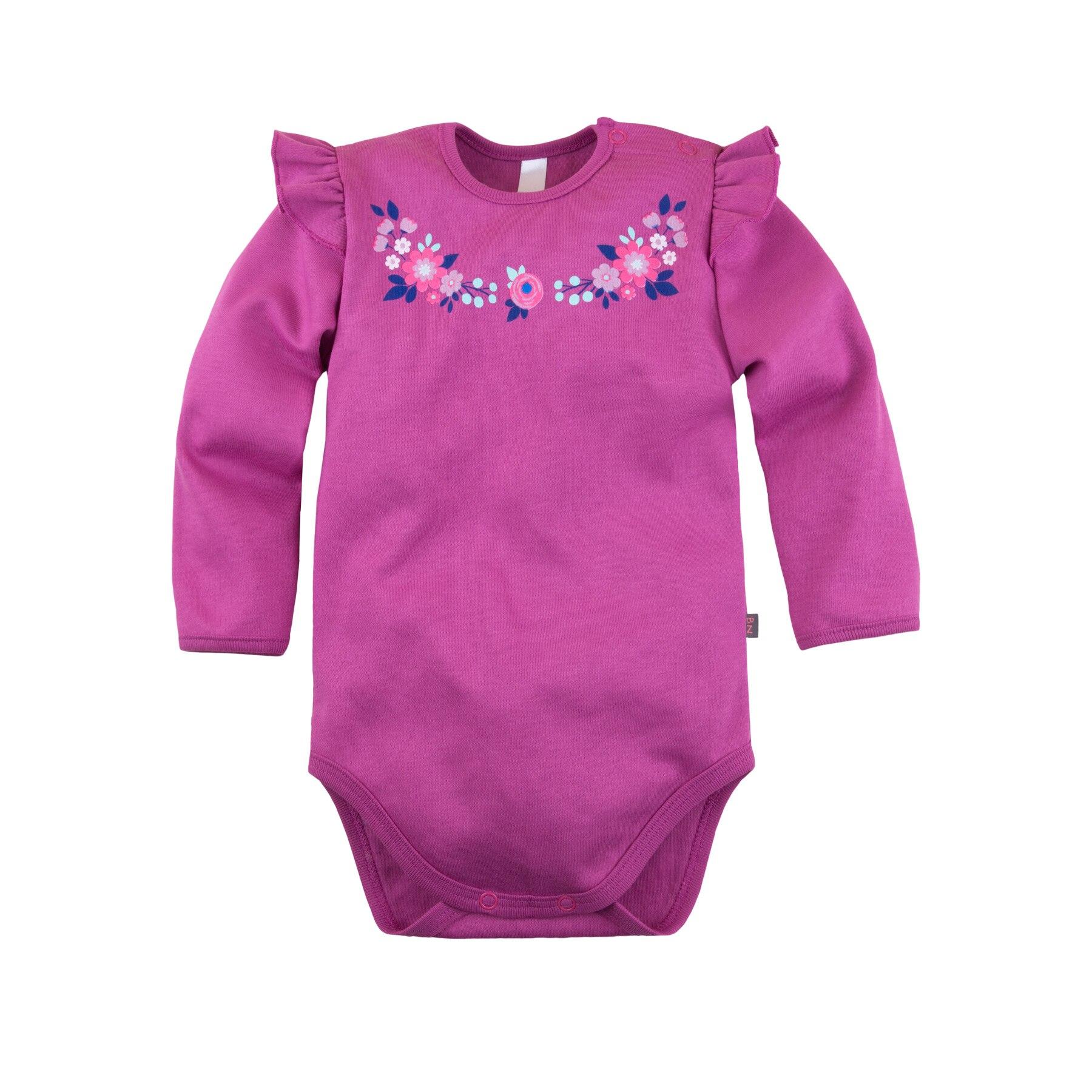 Bodysuit long sleeve \ Violet \ NOVA BOSSA 581Б-361 bodysuit short sleeve