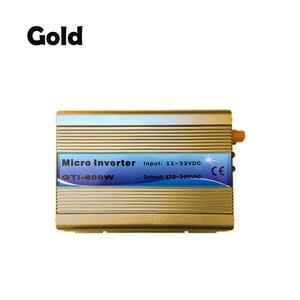 Image 5 - על מהפך עניבת רשת 600W 18V DC קלט 220V AC פלט עם MPPT פונקצית 99% יעילות טהור סינוס גל עבור אנרגיה סולארית מערכות