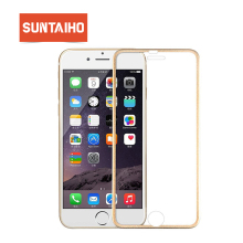 Suntaiho 3D Aluminum alloy Tempered glass For iphone 7 9H Hardness Full Screen protector protective film For iphone 7 Glass