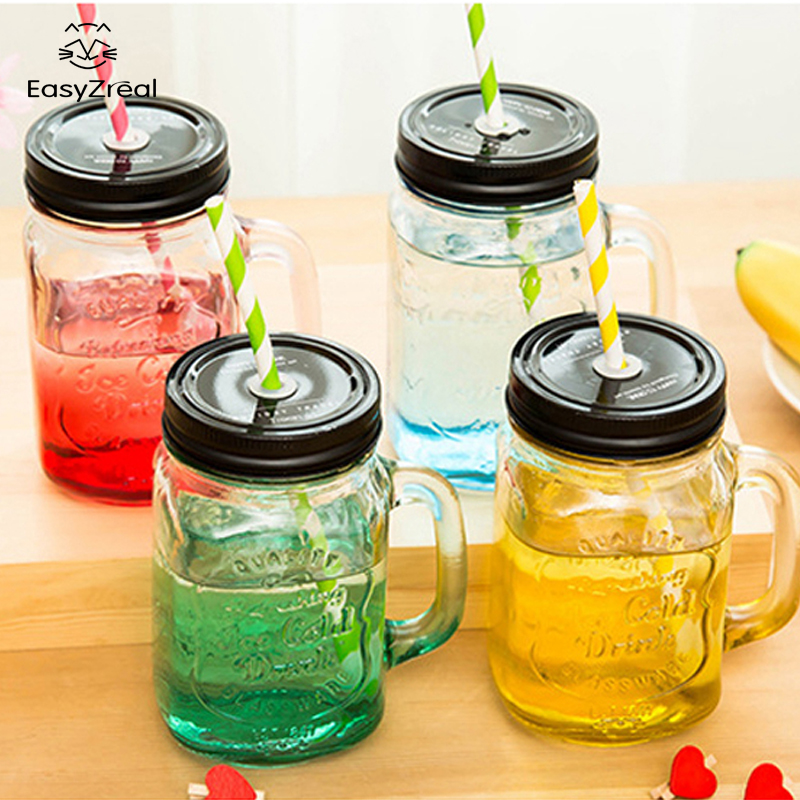 2016 My Personality Grant Color Mason Jar Bottle For Icecream