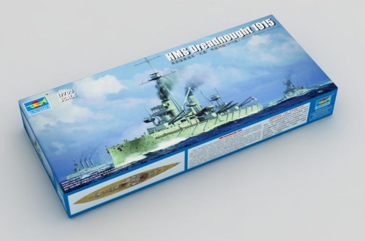 Trumpeter 6705 HMS Dreadnought 1915 in 1:700