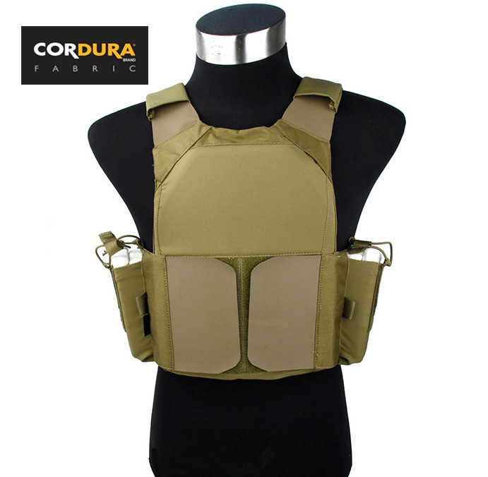 STINGER GEAR LOV MBAV Plate Carrier Khaki Cordura Tactical Military Vest+Free shipping(STG051000) цена