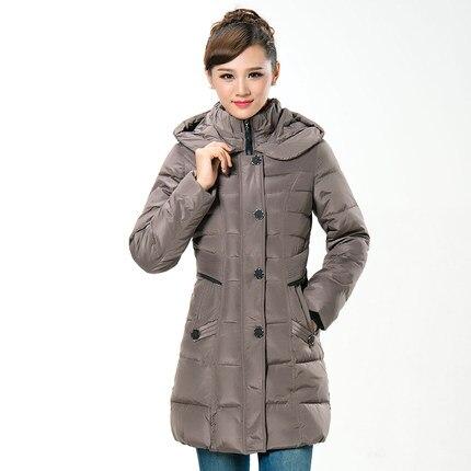 On Sale 2015 Women Hooded Slim Wadded Parkas Fashion Winter Thicken Warm Coat Women Plus Size Down Jackets H5613