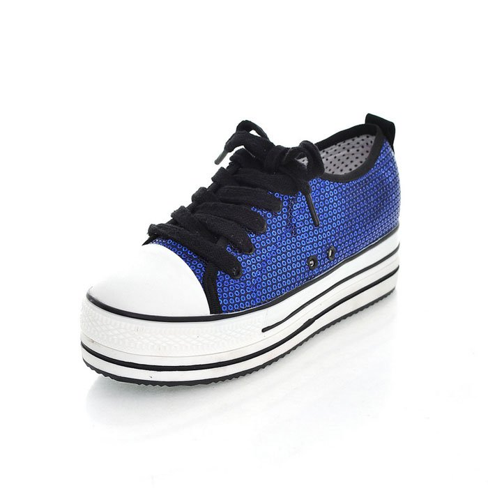 hot sale fashion sequin lady leisure shoes 2012 spring
