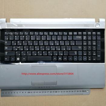 Russian RU new laptop keyboard with touchpad palmrest for samsung RV509 RV511 RV515 RV520 E3511  BA75-02862C