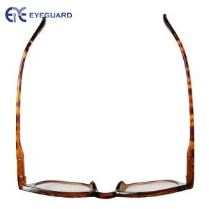 Image 5 - EYEGUARD Anti Reduce Blue Rays Light Unisex Spring Hinges Computer Reading Glasses Readers UV Protection Anti Glare Eyewear Demi
