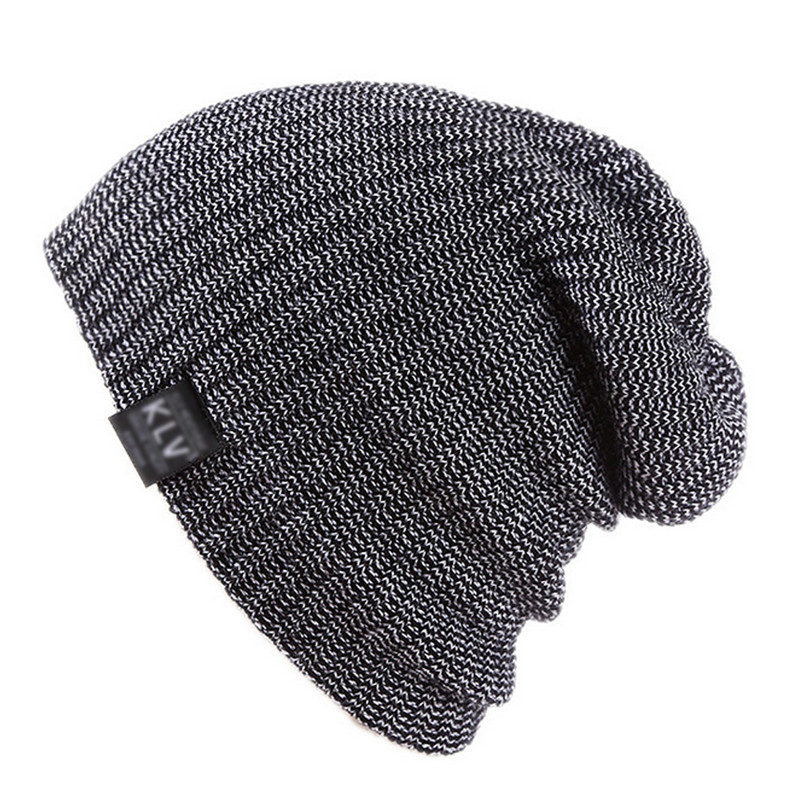 2017 Fashion Unisex Knitted Hat Men Women Winter Soft Warm Striped Hats Bonnet Femme Slouch Oversized Beanie Caps Gorros F2 fashion men knitted winter hat unisex soft warm striped women hats bonnet femme slouch beanie caps trendy hip hop cap gorros