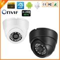 Câmera H.265 IP ONVIF 1080 P HI3516D + 1/2. 7 ''AR0237 H.265 Vigilância de vídeo Da Câmera IP 1080 P 2MP LED 24IR Dome Indoor câmera