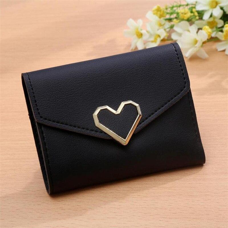 Koreanska stil kvinnor plånböcker rosa kort plånbok för - Plånböcker - Foto 5