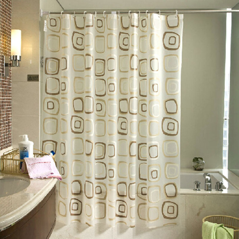peva shower curtains thick bathroom shower curtain cortina ducha waterproof mildew bath curtains rideaux de douche