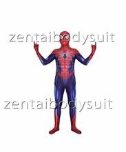 3D Print All-New Spiderman Superhero Spandex Lycra Zentai Bodysuit Halloween Cosplay Party suit free delivery