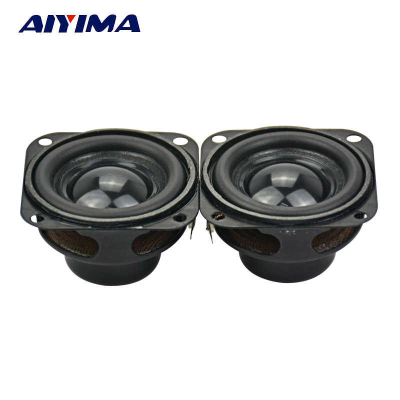 AIYIMA 2Pcs Audio Speakers 1.5Inch 40MM 4Ohm 5W Internal Magnetic Bass Multimedia Speaker