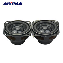 Aiyima 2Pcs Audio Speaker 1.5Inch 40 Mm 4Ohm 5W Internal Magnetic Bass Speaker Multimedia(China)