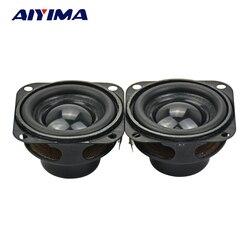 Aiyima 2pcs alto-falantes de áudio 1.5 Polegada 40mm 4ohm 5w alto-falante multimídia baixo magnético interno
