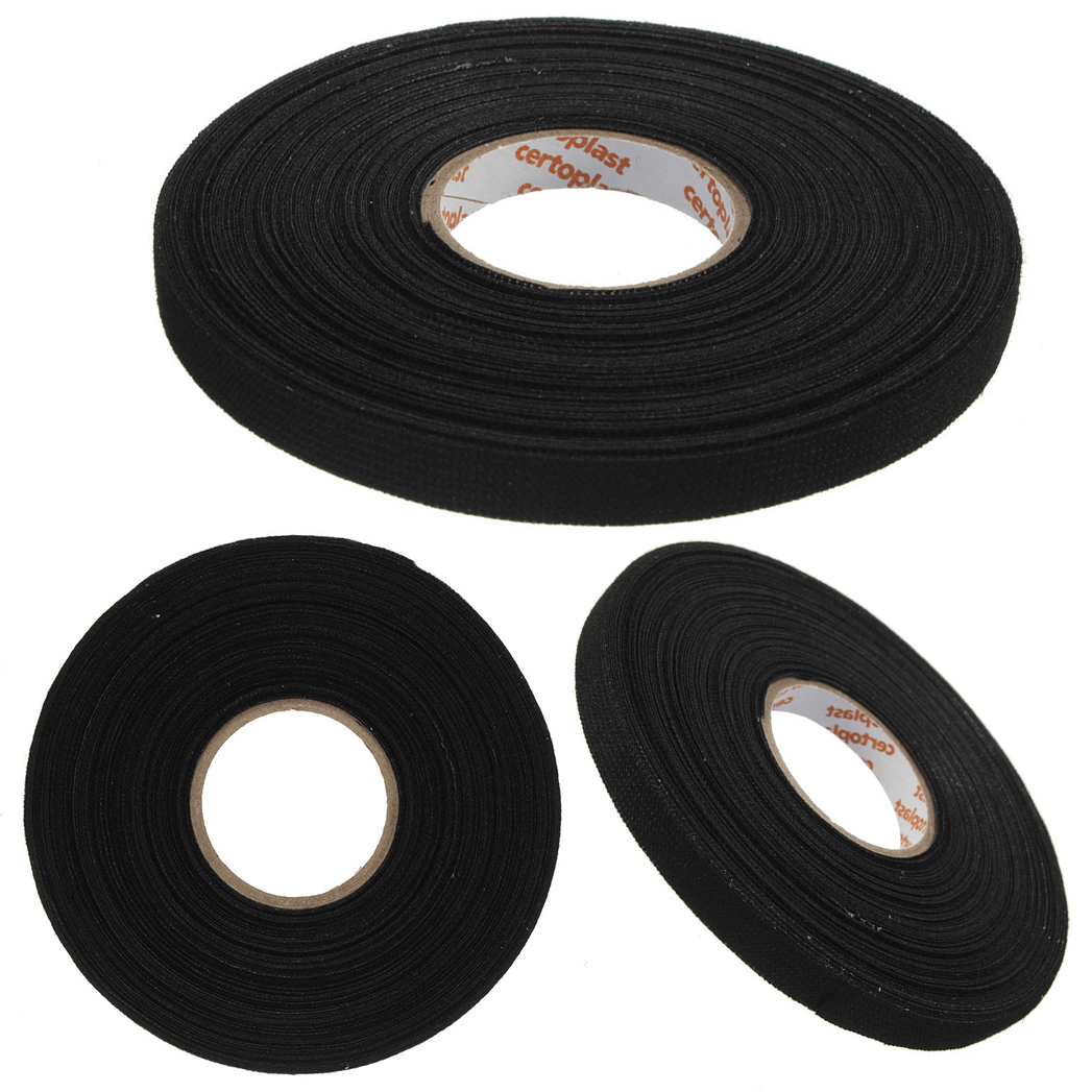 1pc Black font b Wiring b font font b Harness b font font b Tape b online get cheap wiring harness tape cloth fabric aliexpress com cheap wiring harness at webbmarketing.co