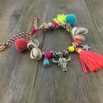 Barefoot Anklet Jewelry Anklets f02846ee759da375bf7e2a: 1|2|3|4|5|anklet|black bracelet|pink bracelet